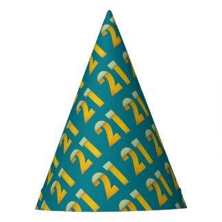Chapéu De Festa Comemore o aniversário de 21 anos