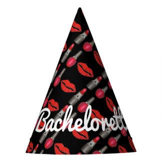 Chapéu De Festa Composição personalizada do beijo do batom de