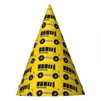 Chapéu De Festa Condutor de autocarro amarelo grande do professor