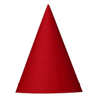 Chapéu De Festa Cor vermelha lisa