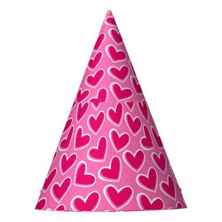 Chapéu De Festa Corações do amor