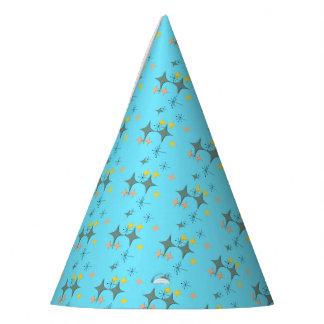 Chapéu De Festa Costume atômico moderno de Eames Starbursts do