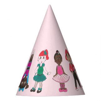 Chapéu De Festa Dançarinos da menina da bailarina da festa de