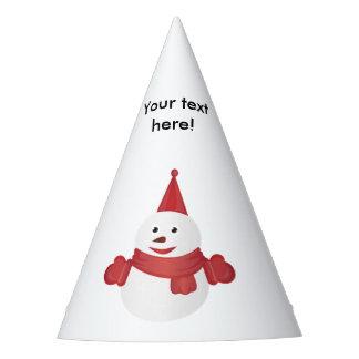 Chapéu De Festa Desenhos animados do boneco de neve