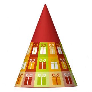 Chapéu De Festa design da troca do presente de época natalícia