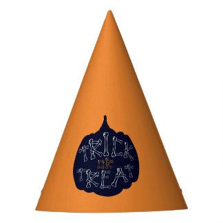 Chapéu De Festa Doçura ou travessura da abóbora do Dia das Bruxas