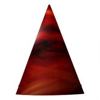 Chapéu De Festa Esfera do fogo vermelho