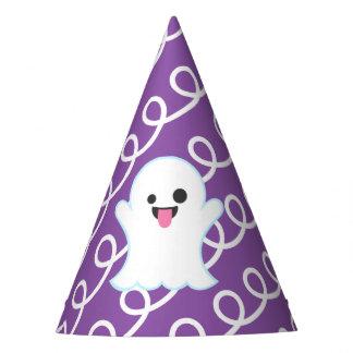 Chapéu De Festa Fantasma Emoji (redemoinhos do roxo)