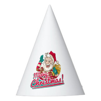 Chapéu De Festa Feliz Natal e Papai Noel