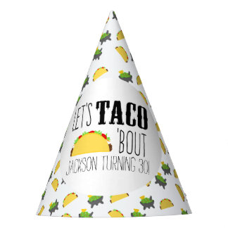 Chapéu De Festa Festa de aniversário do ataque do Taco '