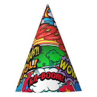 Chapéu De Festa Festa de aniversário do super-herói da banda