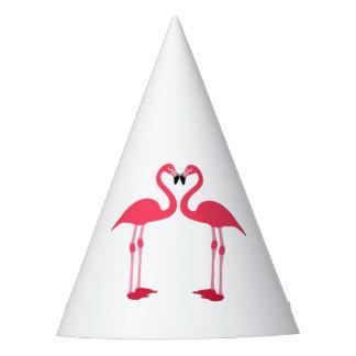 Chapéu De Festa flamingo-pássaros