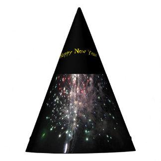 Chapéu De Festa Fogos-de-artifício do feliz ano novo