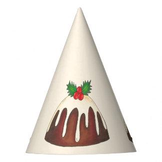 Chapéu De Festa Folha do azevinho do feriado do Natal do pudim de