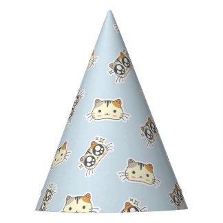 Chapéu De Festa Gatos pequenos bonitos do gatinho do gatinho de