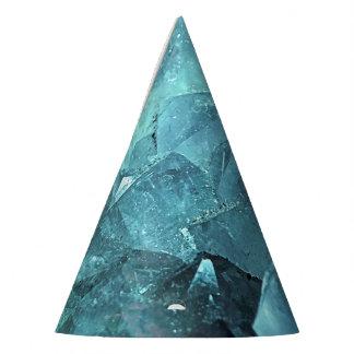 Chapéu De Festa Hortelã de cristal