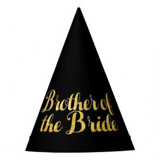 Chapéu De Festa Irmão do ouro da noiva