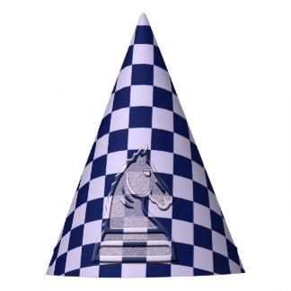 Chapéu De Festa Lilac #1 da xadrez