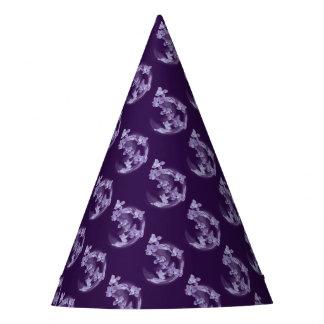Chapéu De Festa Lilac no círculo