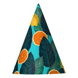 Chapéu De Festa limões e cerceta das laranjas