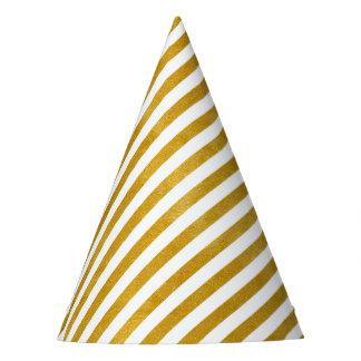 Chapéu De Festa Listra elegante do ouro - costume sua cor