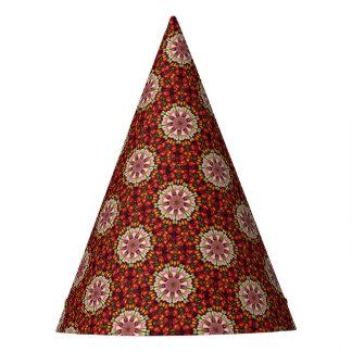 Chapéu De Festa Mandala botânica dos sonhos