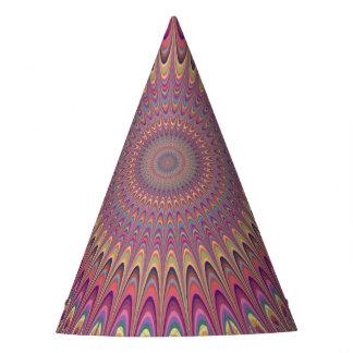 Chapéu De Festa Mandala da grade do Hippie