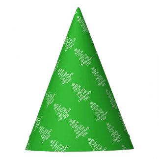 Chapéu De Festa Mantenha a calma e o foco na árvore de Natal