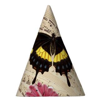 Chapéu De Festa música da borboleta da margarida