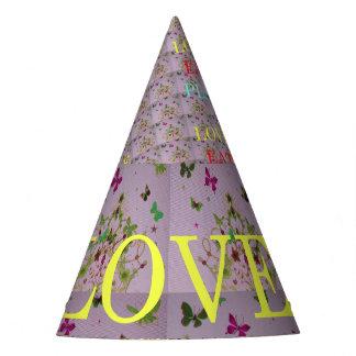 Chapéu De Festa O amor feito sob encomenda bonito come ideias do