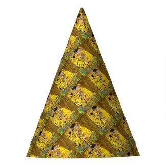 Chapéu De Festa O beijo dos amantes após Klimt