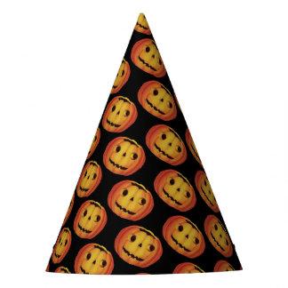 Chapéu De Festa O Dia das Bruxas antiquado, abóbora (lanterna do