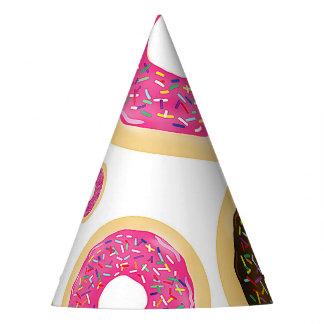 Chapéu De Festa O rosa & Brown polvilham a festa de aniversário