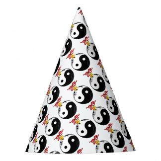 Chapéu De Festa Ornamento de Yin e de Yang