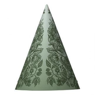 Chapéu De Festa ornaments o verde de musgo