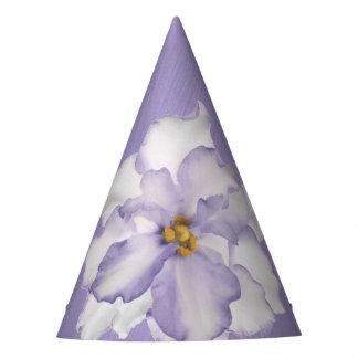 Chapéu De Festa Orquídea bonita da lavanda