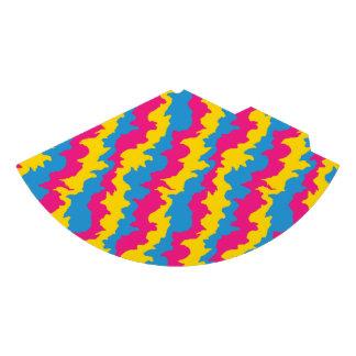 Chapéu De Festa Padrões Pansexual da bandeira