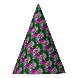 Chapéu De Festa Pétalas cor-de-rosa do cacto