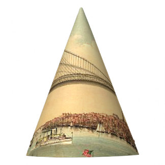 Chapéu De Festa Ponte de Brooklyn do T