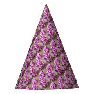 Chapéu De Festa Profundamente - corrente de flor cor-de-rosa da