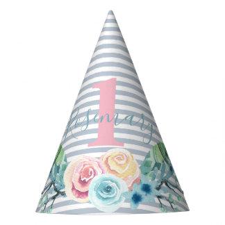 Chapéu De Festa Pulverizador floral de Boho