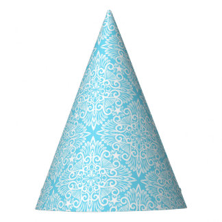 Chapéu De Festa Raiz ideal azul brilhante