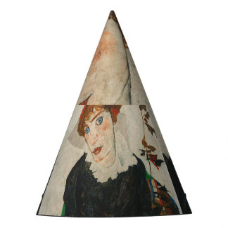 Chapéu De Festa Retrato de Wally por Egon Schiele