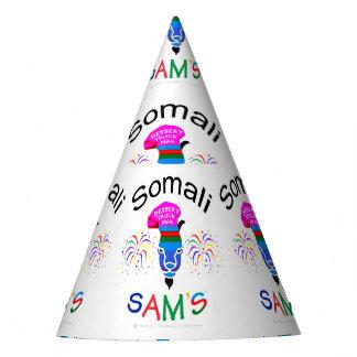 """Chapéu De Festa """"Sam somaliano, homem do caminhão da sobremesa"""","""