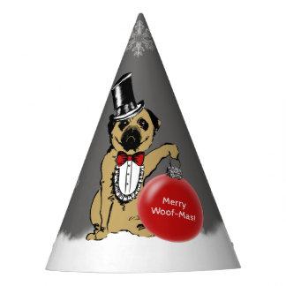 Chapéu De Festa Senhor Pug Cão