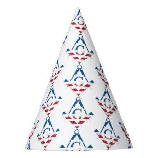 Chapéu De Festa Símbolo dos EUA Freemasonic