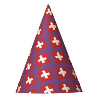 Chapéu De Festa Suíça - Suisse Svizzera - Svizra Partyhütchen