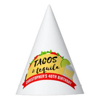 Chapéu De Festa Tacos e festa de aniversário do Tequila
