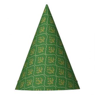 Chapéu De Festa Tapeçaria verde
