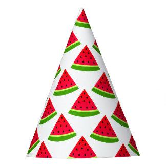 Chapéu De Festa Teste padrão da melancia